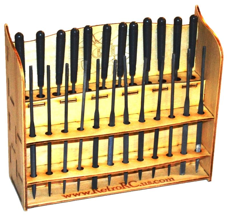 Tool Rack Needle Files